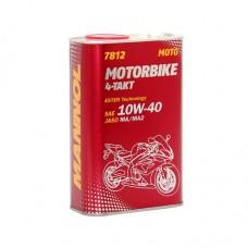 MN7812-1ME   4TAKT MOTORBIKE SAE  10W-40  JASO MA/MA2  (METAL) 1 L