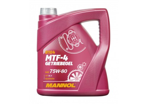 75W-80 MTF-4 GETRIEBEOEL 4L